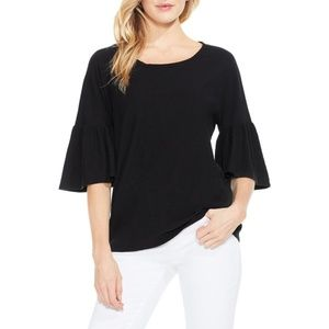 NWT Oversized Vince Camuto Bell Sleeve Tee Top